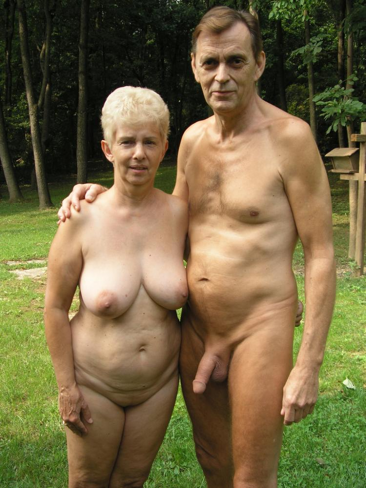 Grandma and grandpa nude