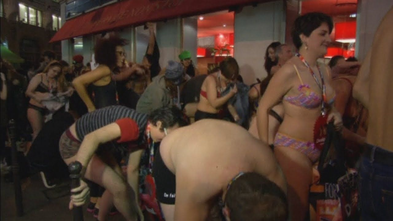 Assured, what male stripper pulls off girls panties excellent message