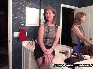 Piston reccomend Granny wanks boy in pantyhose video
