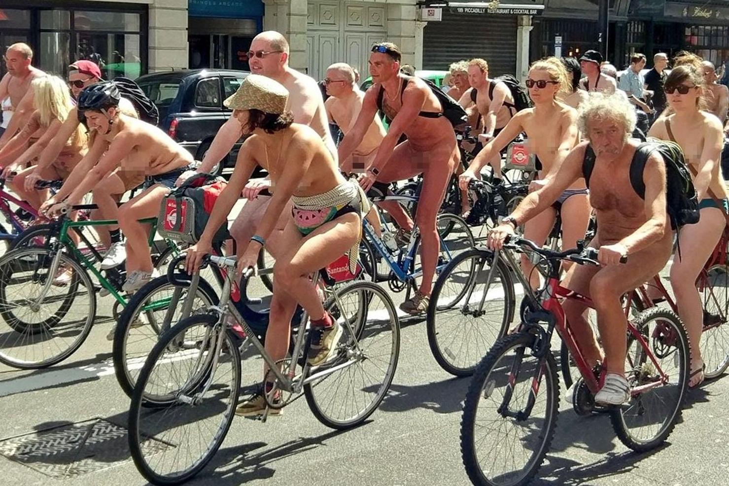 Combat reccomend Pictures of nudist bike protest