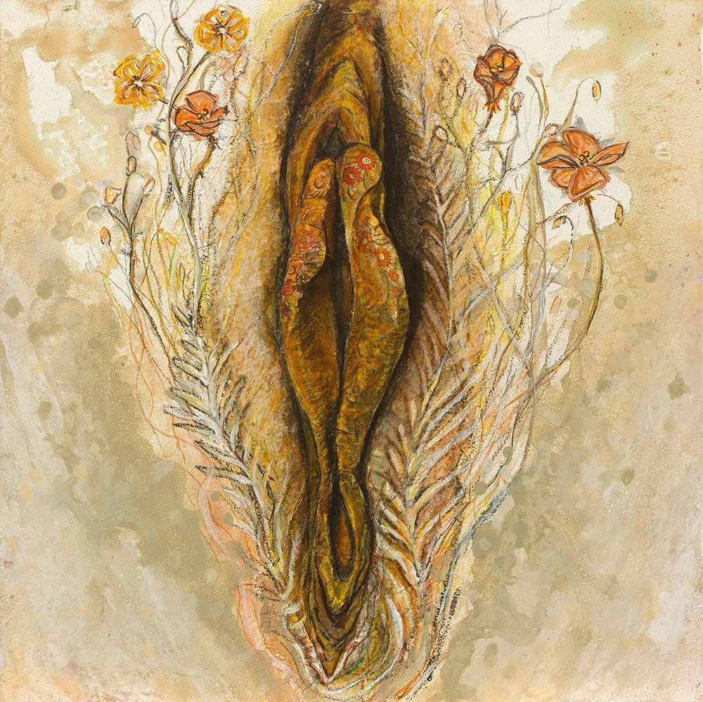 Artistic photos female vulva