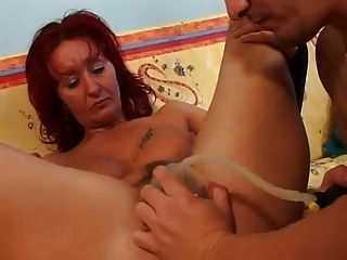 Milf pussy pumped what