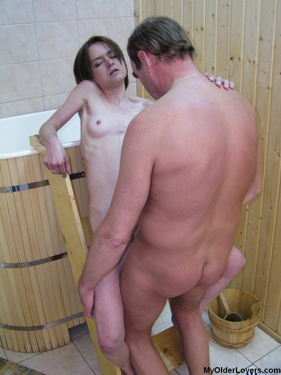 Very very very old wife swapping porn