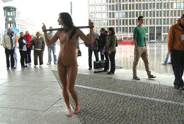 Lunar reccomend Girls bondage in public