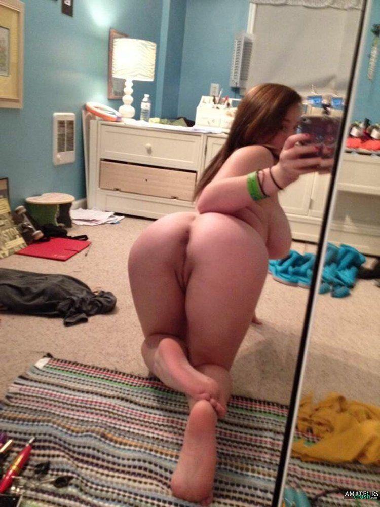 Over naked pics bent girls Racy selfies