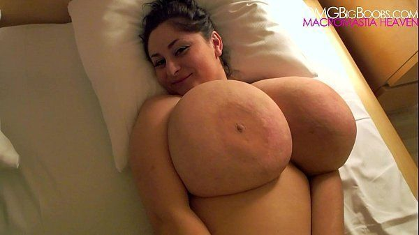 With huge boobs com