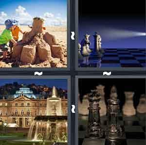 best of 1 word castles 4 pics