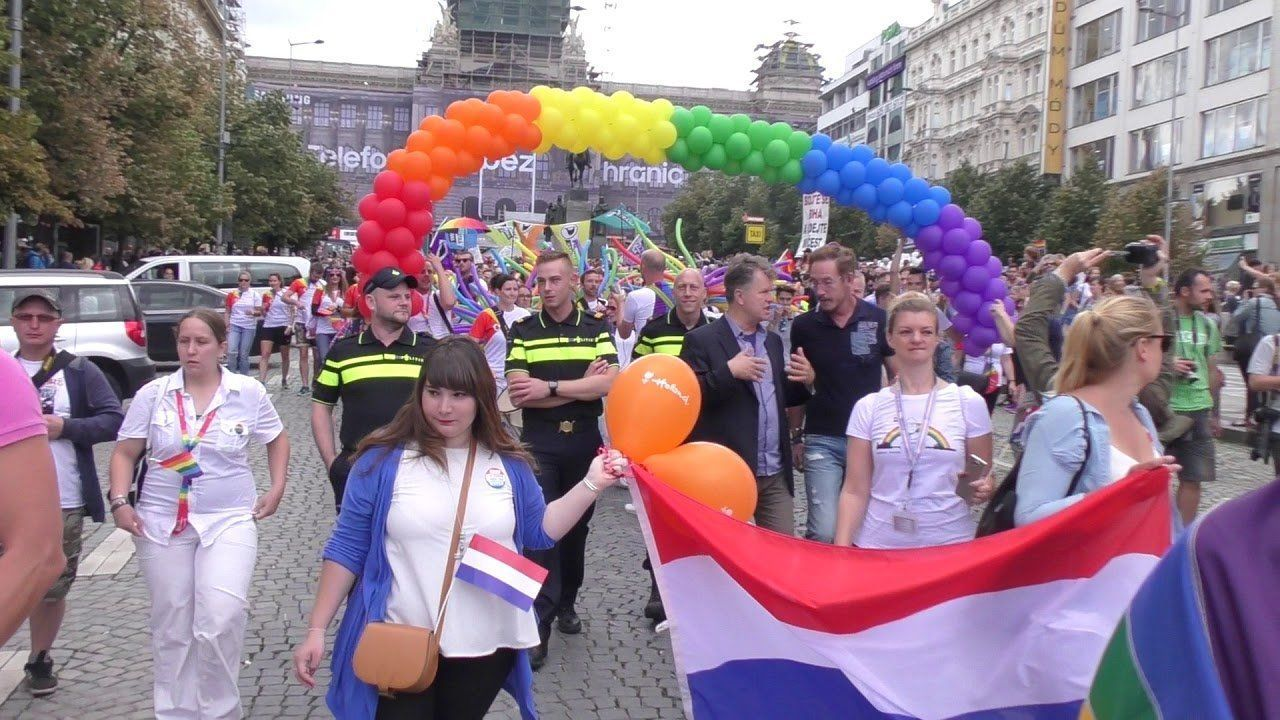 Pipes reccomend Prague gay pride