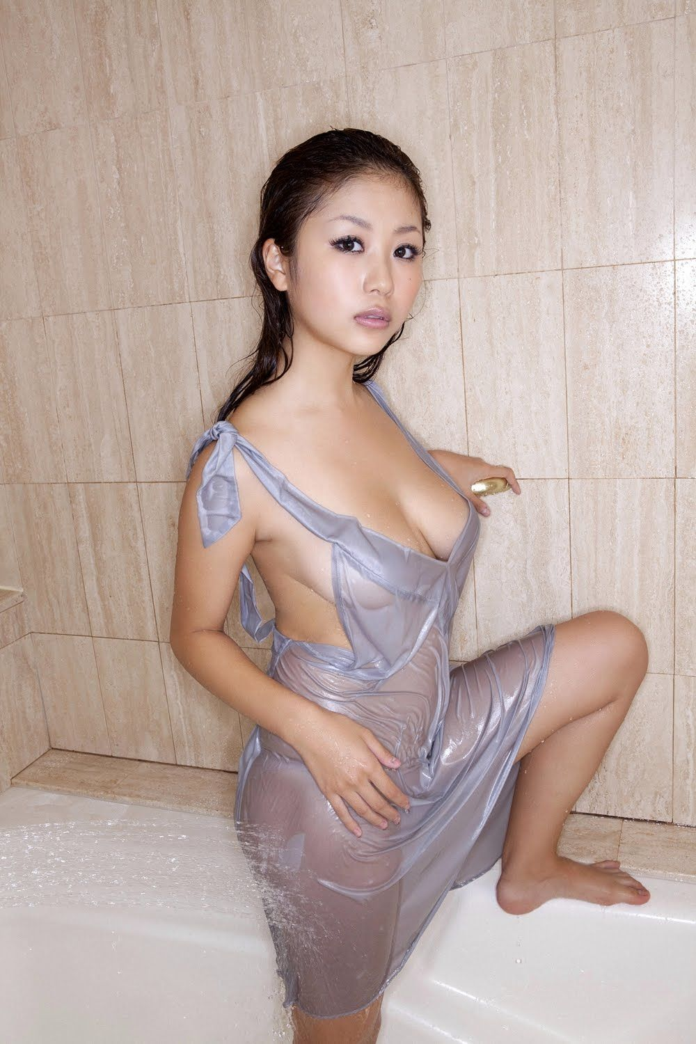 Not nude wet asian girls excellent
