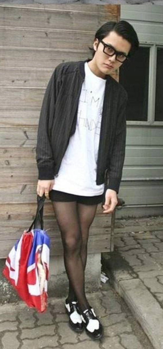 Asian boys wearing pantyhose - Sex photo. Comments: 5