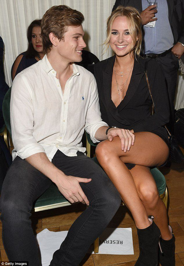 The S. reccomend His hand on her leg