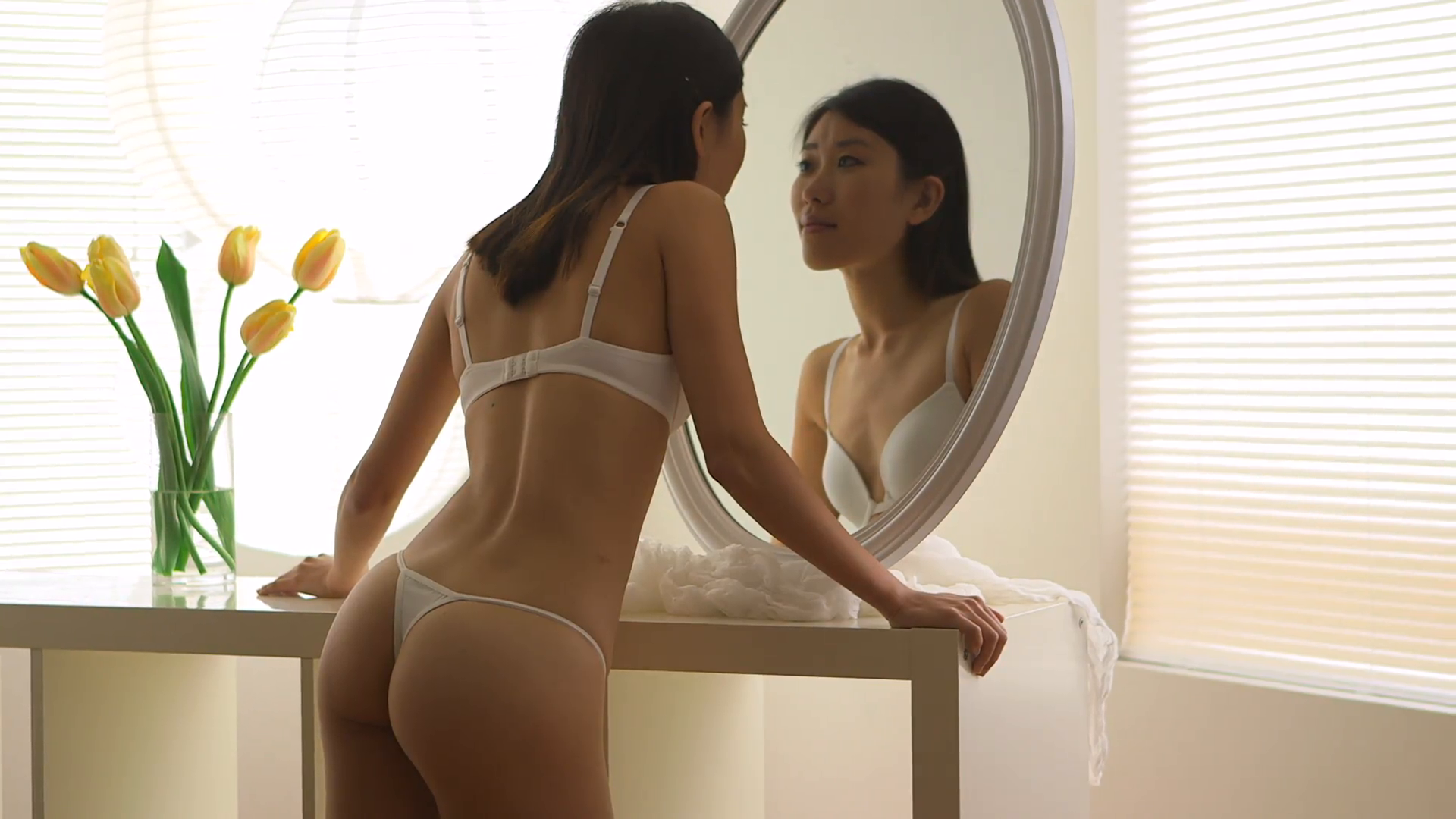 best of Chicks in thongs Asian