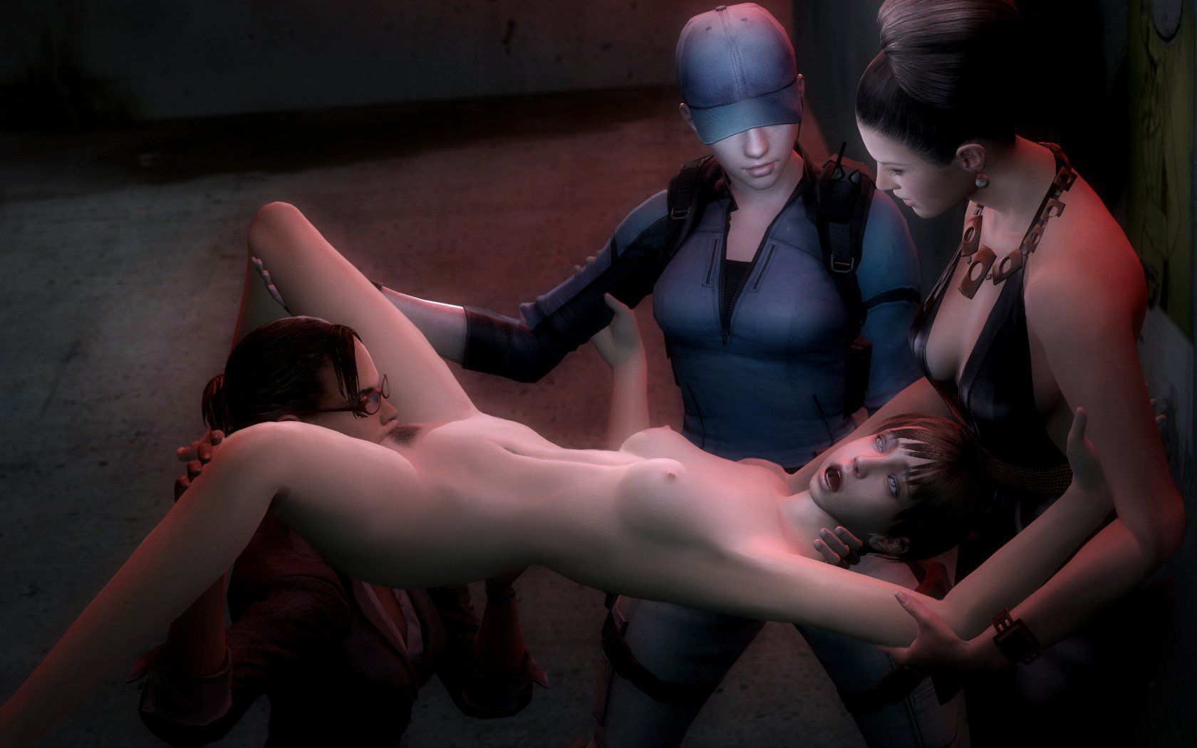 Resident evil girls porn and fucking pic healthy!