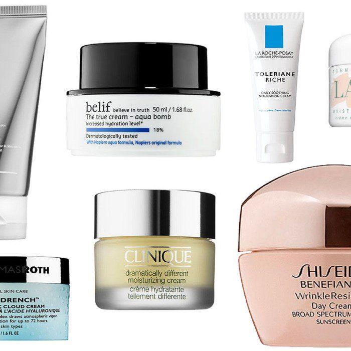 Emollient facial moisturizer