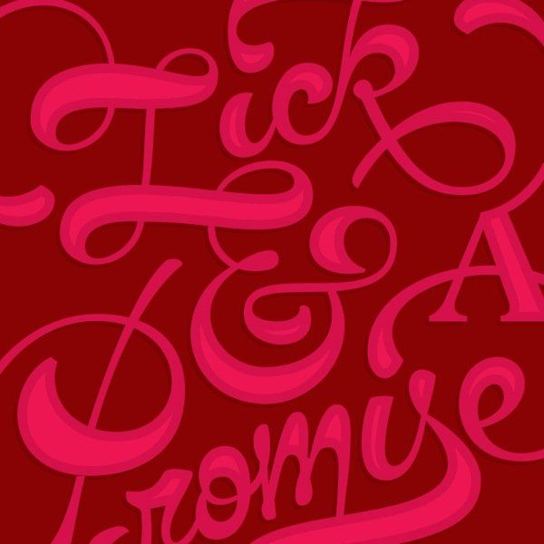 best of And font Lick a promise