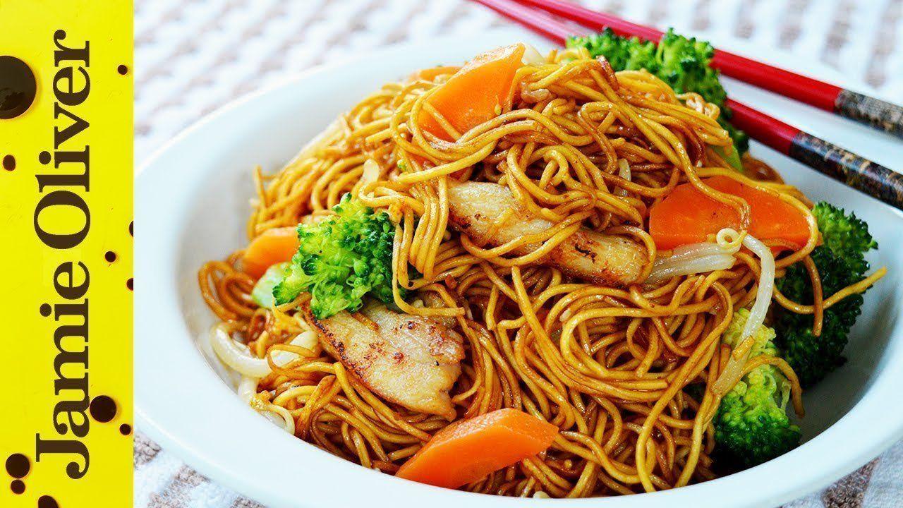 Baby D. reccomend Asian noodle stir fry