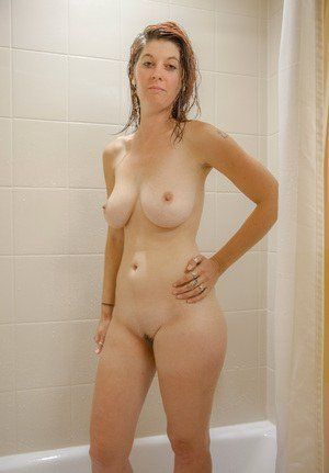 Thought mature nude women outdoor shower