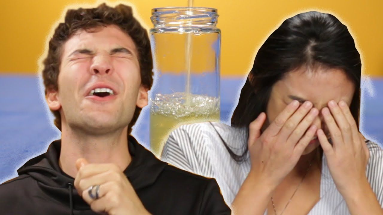 People drinking piss