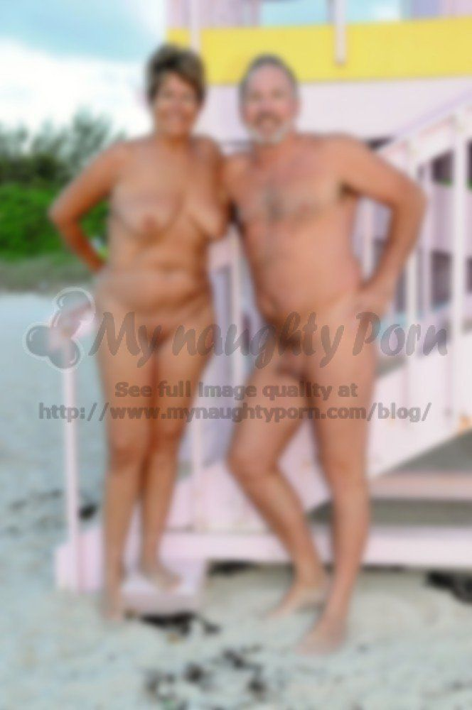 Nude middle aged couple photos