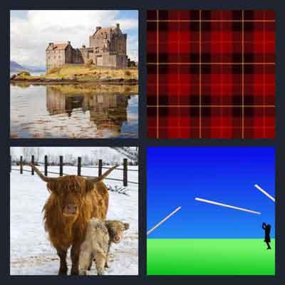 4 pics 1 word castles