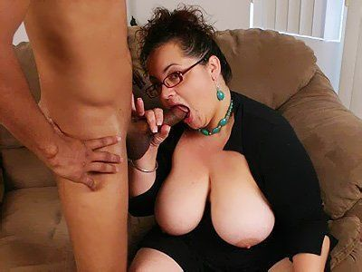 Fat women sucking black cock