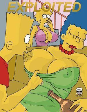 Marge simpson nackte Die Simpsons: