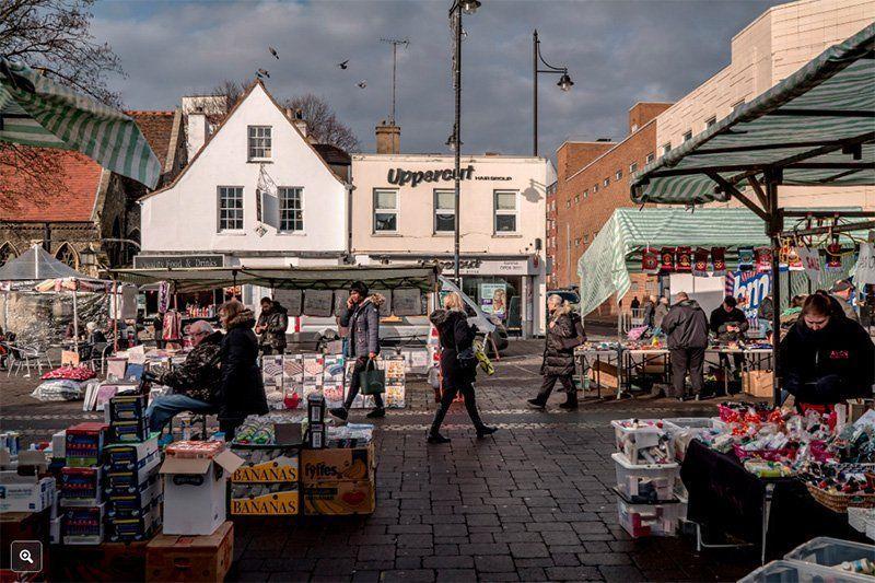 Glory hole romford market