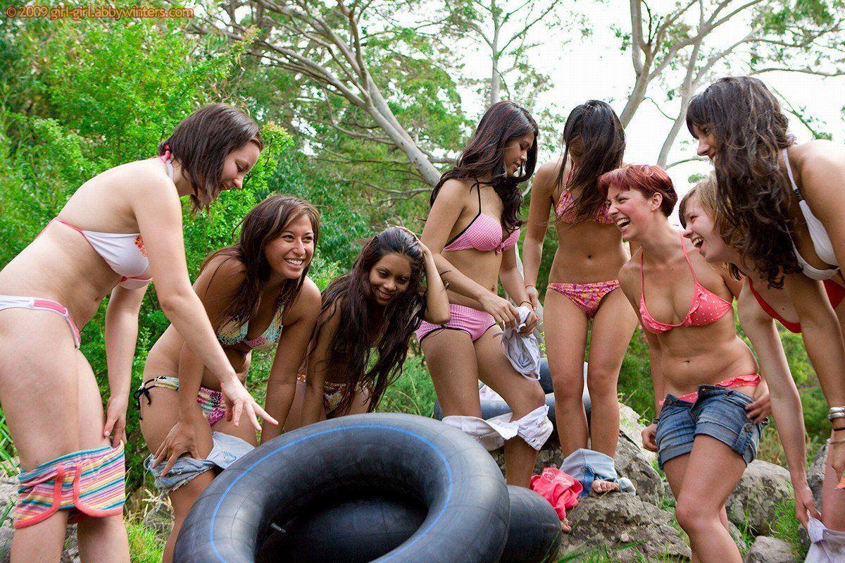 Outlaw reccomend Naked girl on inner tube