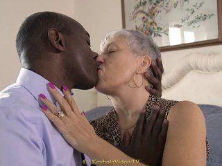 Granny interracial sex videos