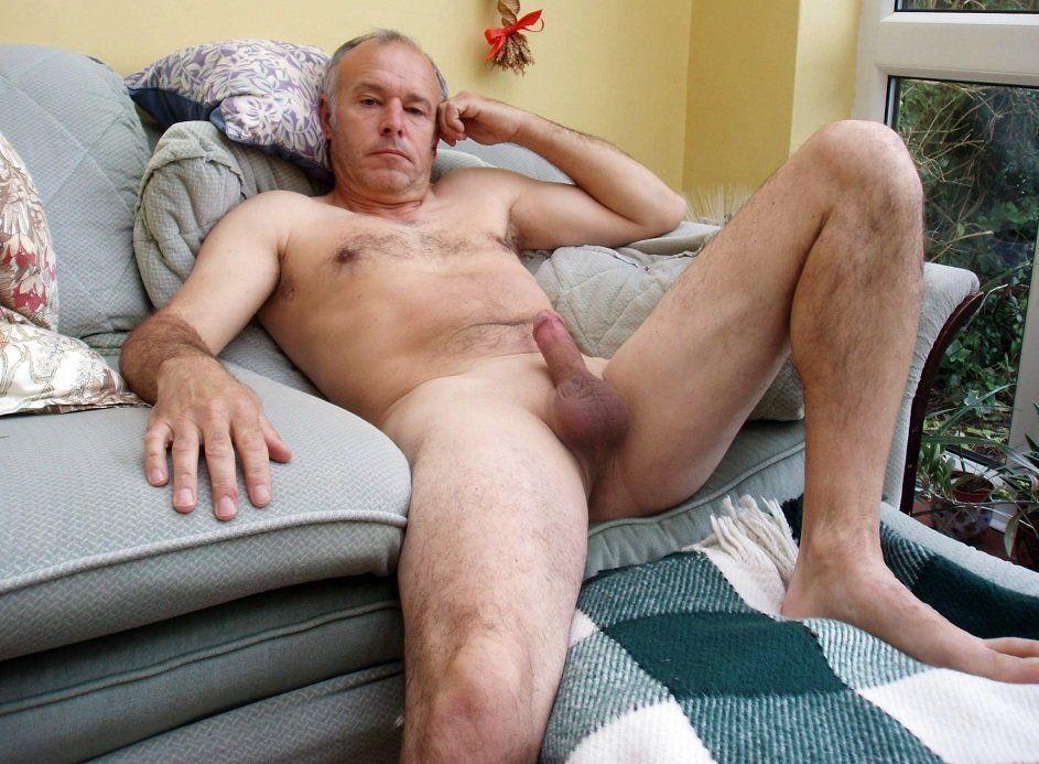 Senior men nude