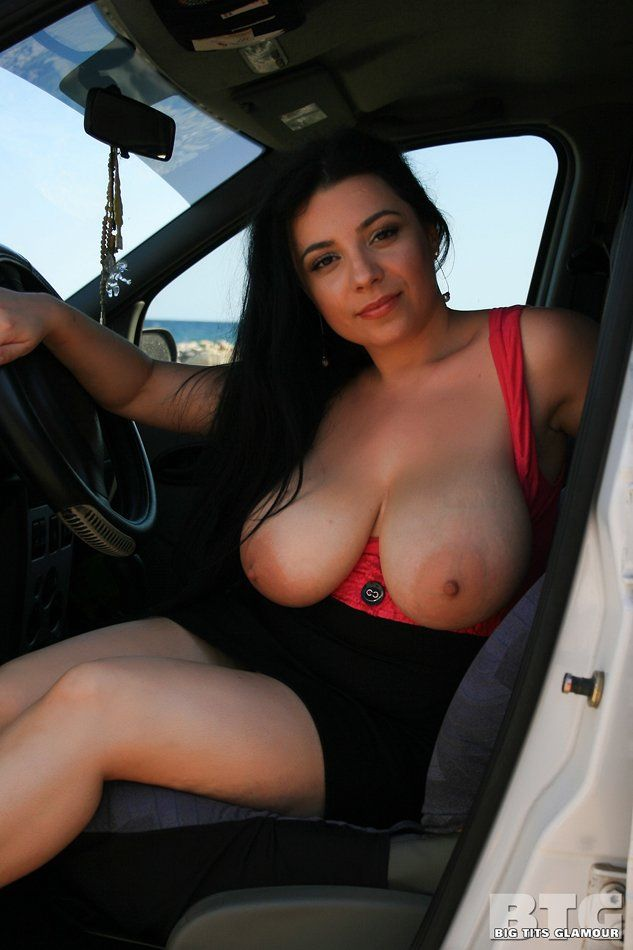 best of With Nude boobs driving big