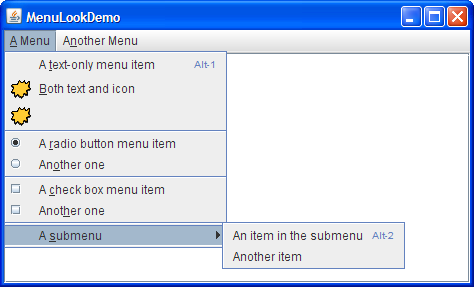 Ribbie reccomend When to use a menu strip