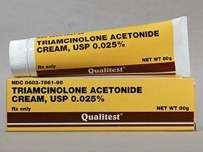 Triamcinolone acetonide ointment for vulva irritation