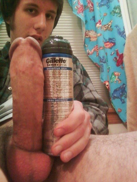 Excited beer can gay cock remarkable