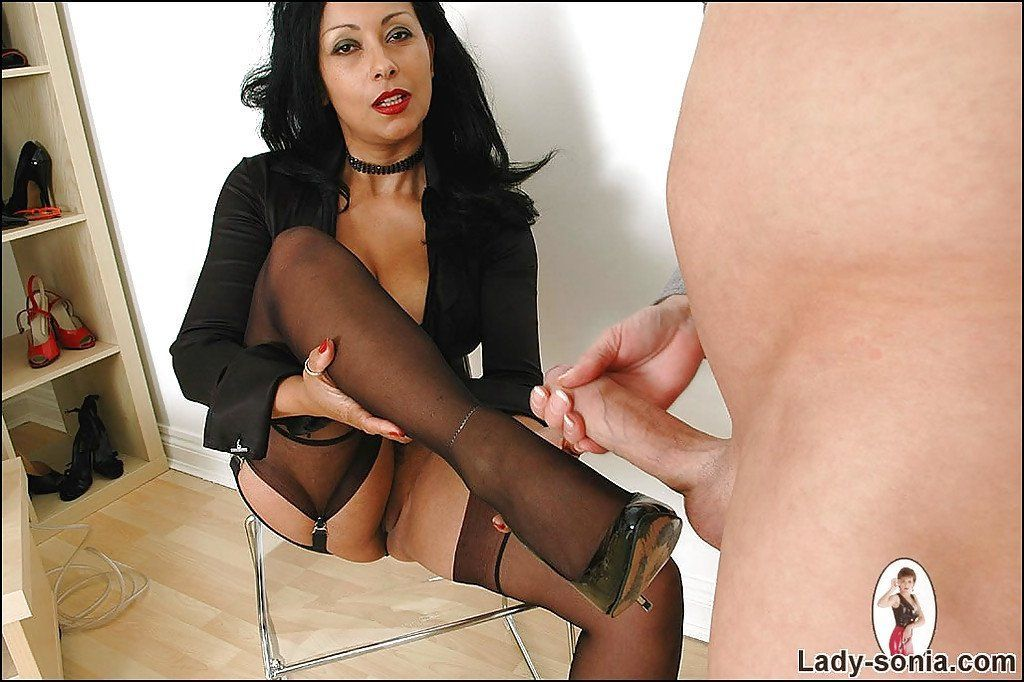 best of Lady Fetish mature foot