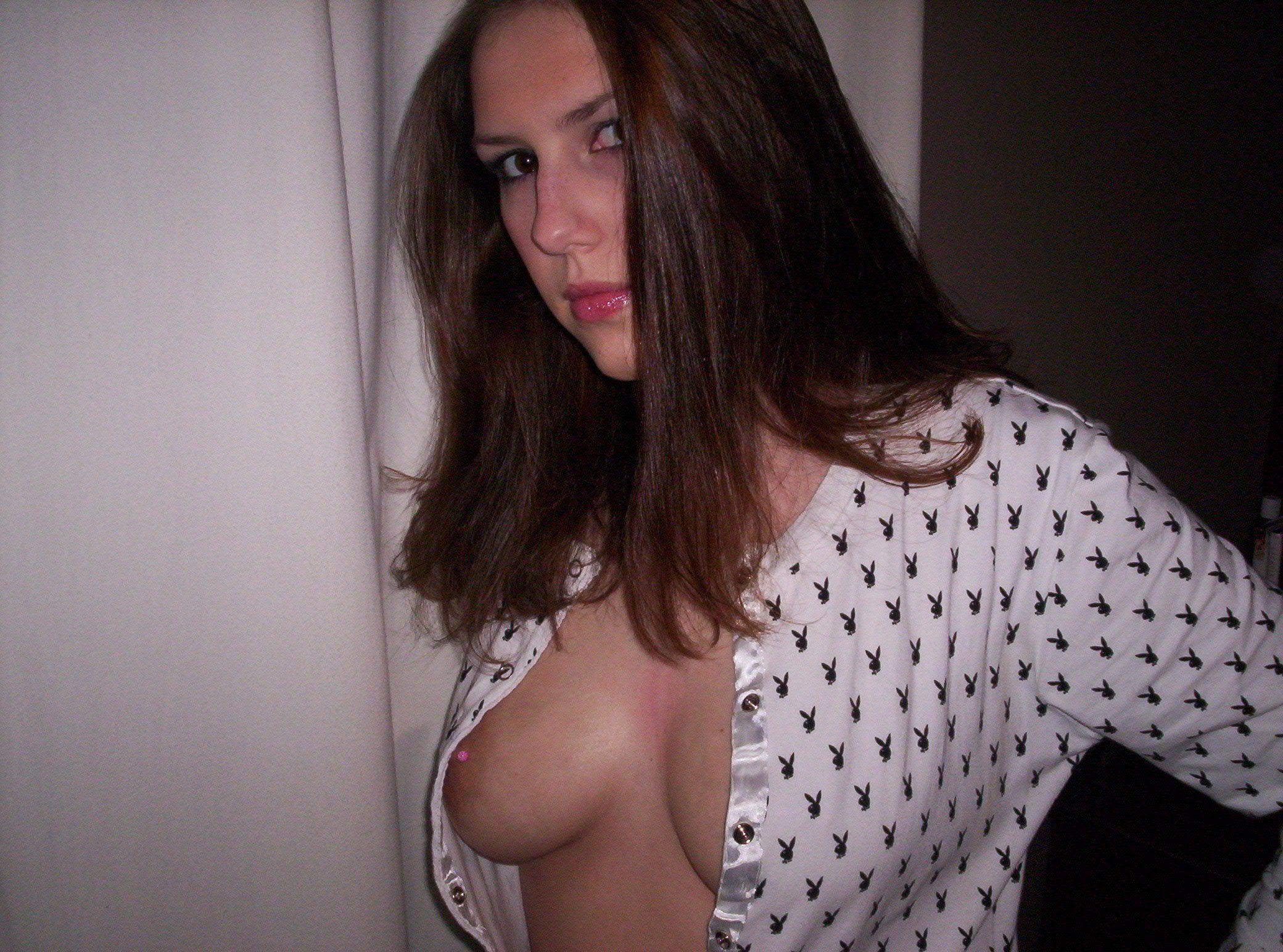 Teen slut pierced nipples