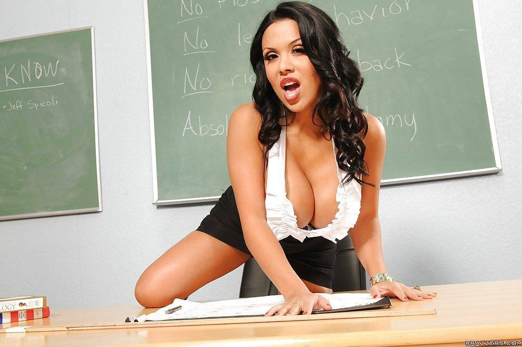 Words... Hot teacher strips nude