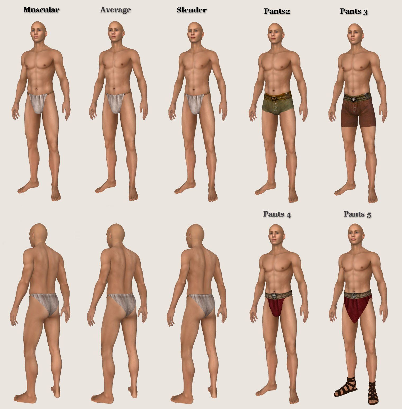 Think, that morrowind nude male skins