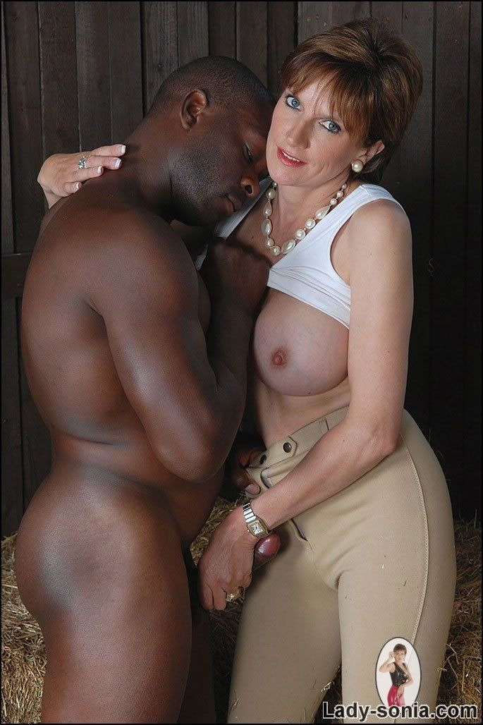 Mature black hand job