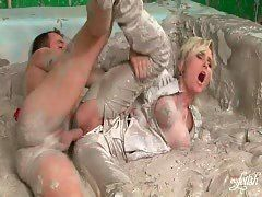 best of Mud Mature MILF in fuck
