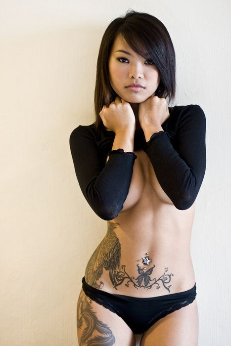 Burberry reccomend Hot Asian Chick Does It All!