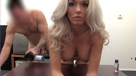 Doctor /. D. reccomend Blonde housewife couch creampie Creampie