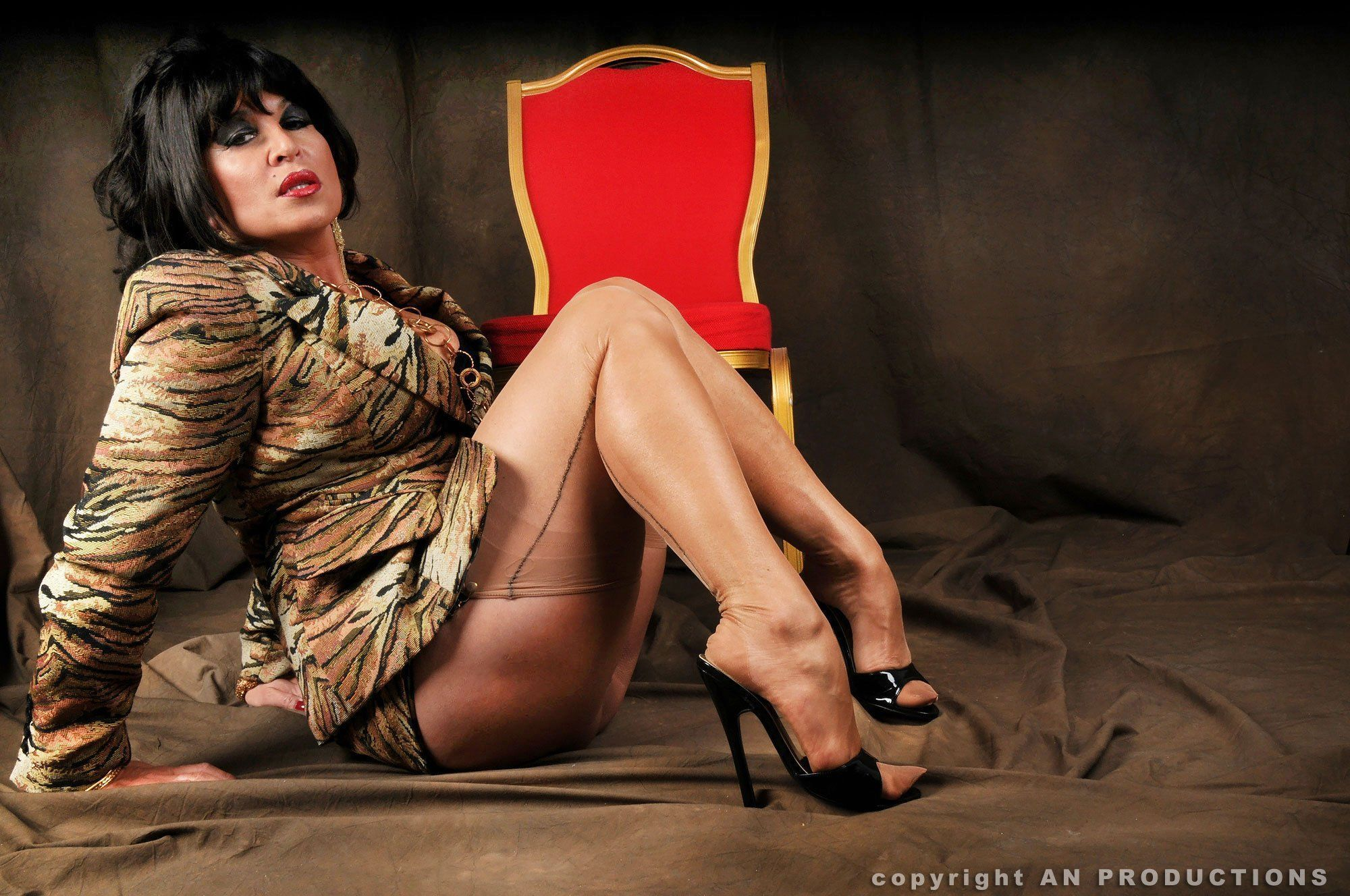 best of Pantyhose Heels german and