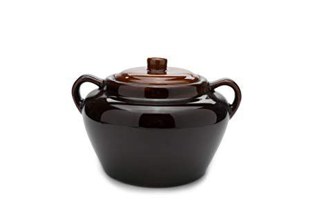 Bean pot with mexican on bottom
