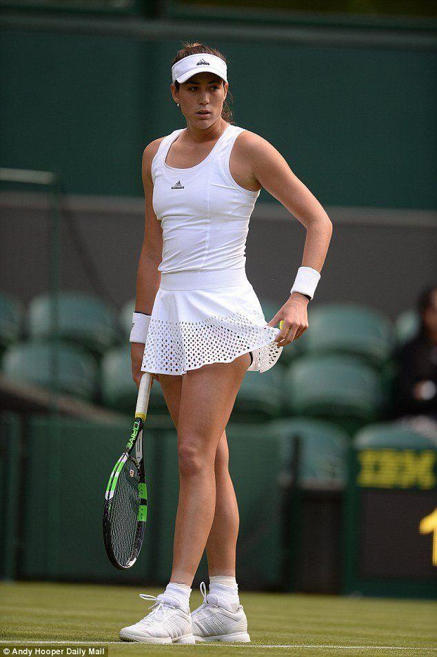 Tennis upskirt goerges