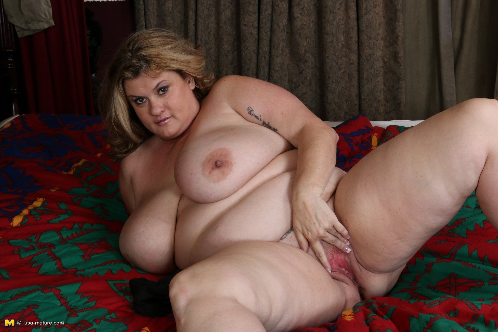 For tits bbw playing all