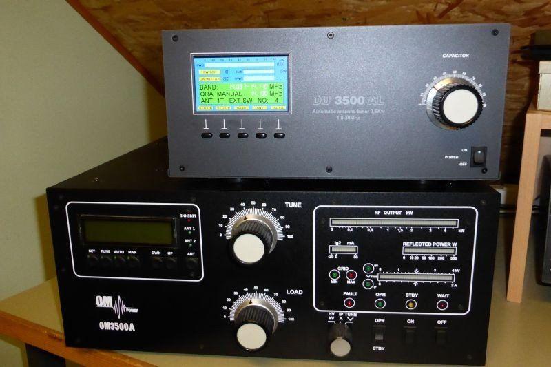 Automatic tuner amateur