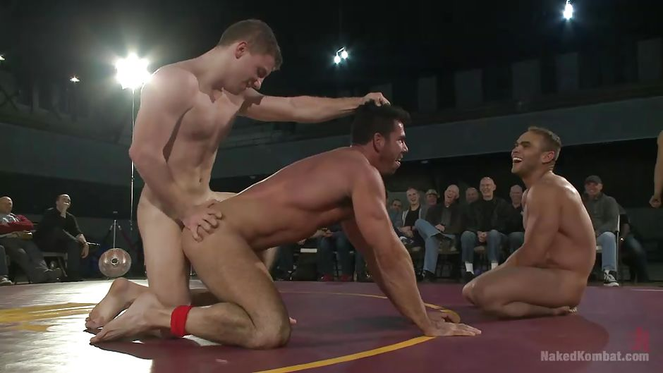 Out the wrestling male oil nude interesting