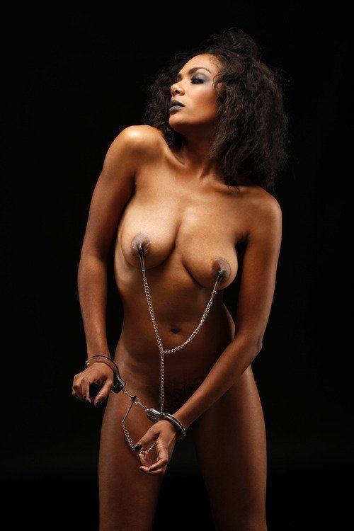 Sexy black slave