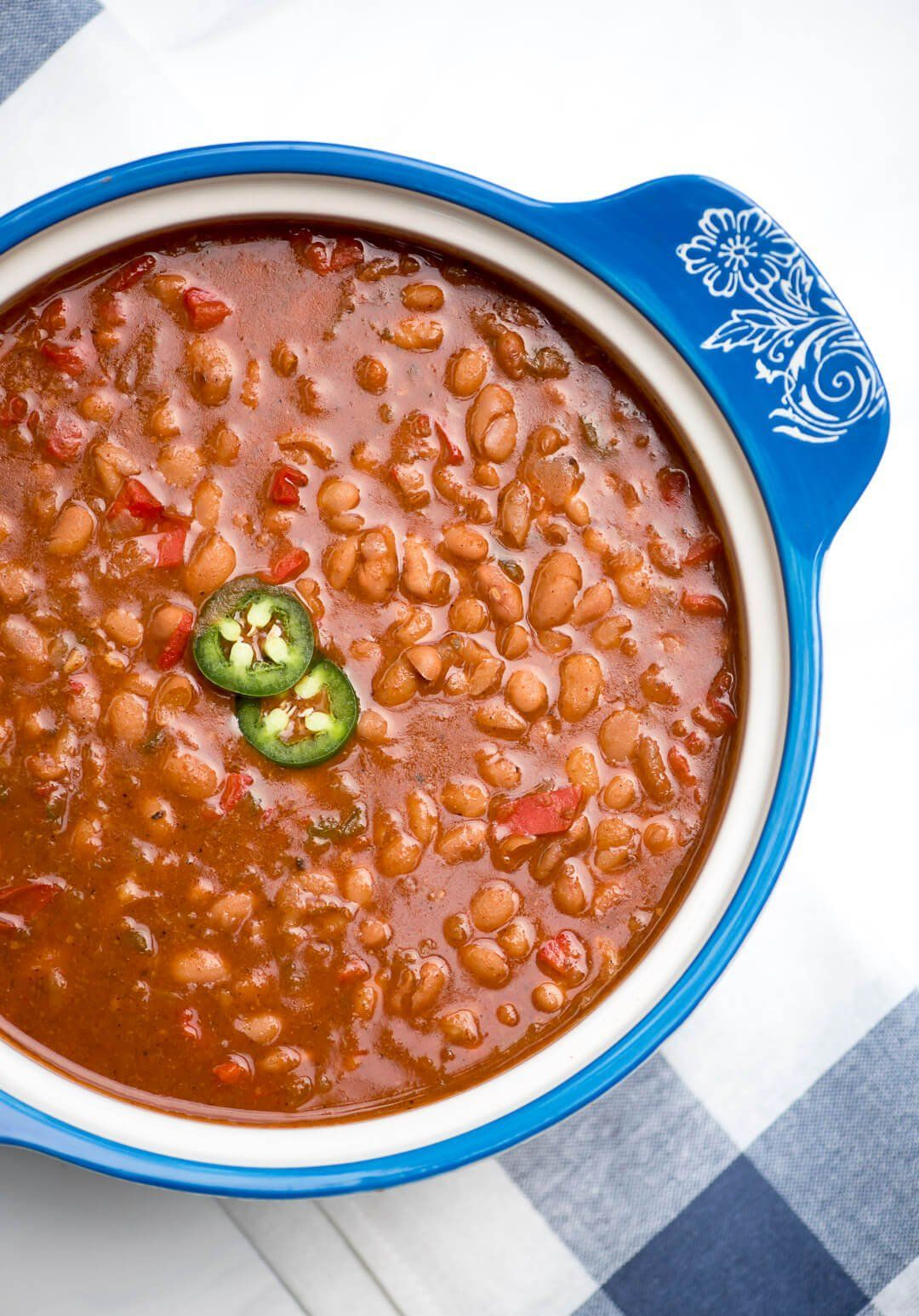 Poppins reccomend Bean pot with mexican on bottom